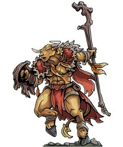 Minotaur_Druid